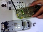 melepas casing/board hp